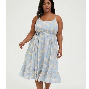 Torrid Challis Midi Dress